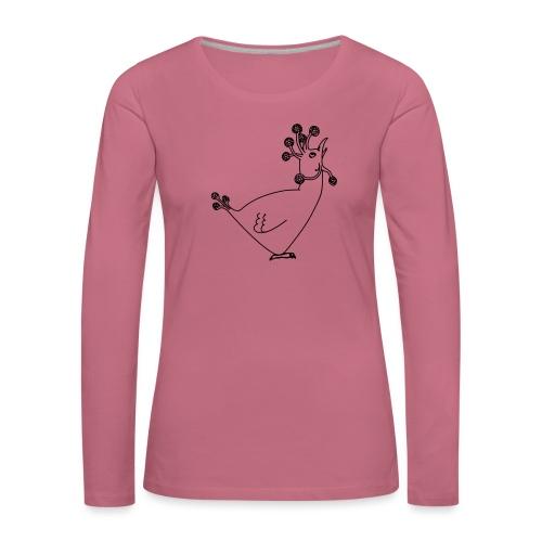 Cosmic Chicken - Women's Premium Longsleeve Shirt