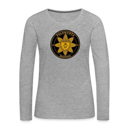 vvpk - Naisten premium pitkähihainen t-paita