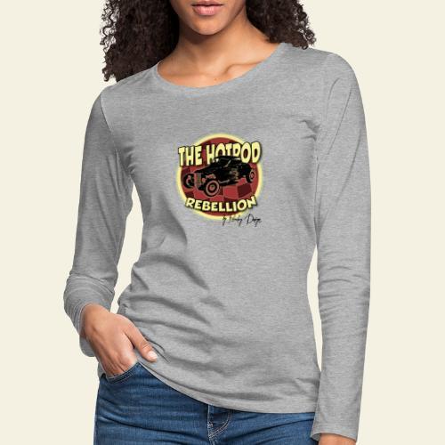hotrod rebellion - Dame premium T-shirt med lange ærmer