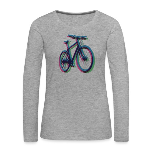 Bike Fahrrad bicycle Outdoor Fun Mountainbike - Women's Premium Longsleeve Shirt