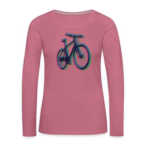 Bike Fahrrad bicycle Outdoor Fun Mountainbike - Women's Premium Longsleeve Shirt