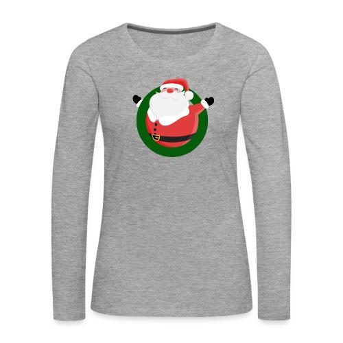 Dagar Till Jul - Långärmad premium-T-shirt dam