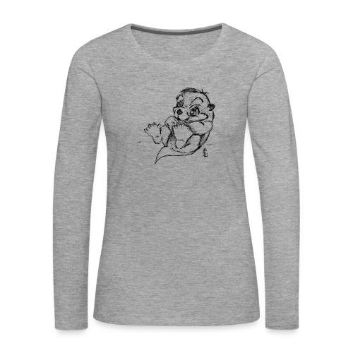 Loutre - T-shirt manches longues Premium Femme