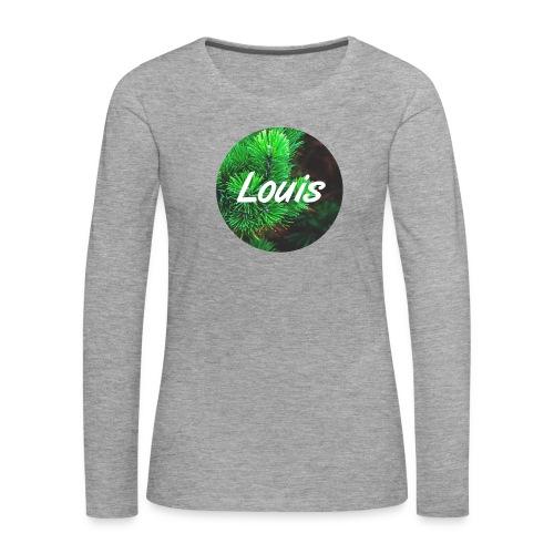 Louis round-logo - Frauen Premium Langarmshirt