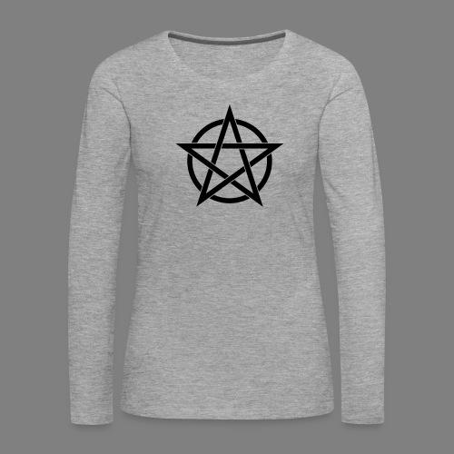 pentagramm - Frauen Premium Langarmshirt