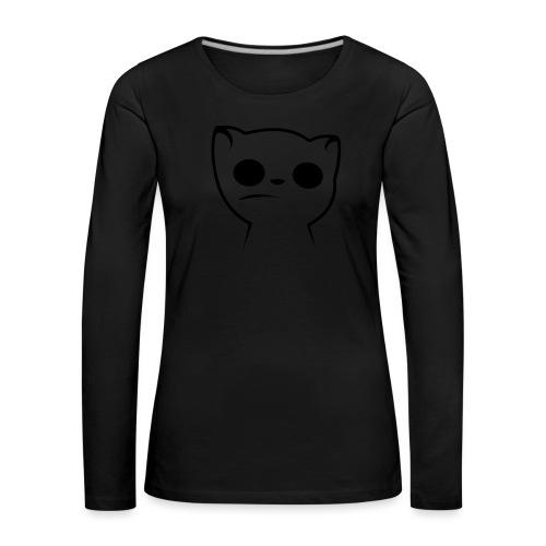 Hypnocat Weiss - Frauen - Frauen Premium Langarmshirt