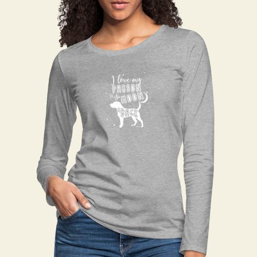 Parson Moon 2 - Naisten premium pitkähihainen t-paita
