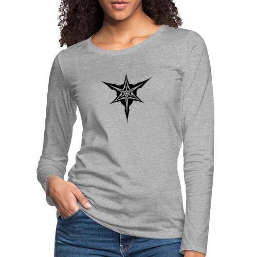 Psybreaks visuel 1 - black color - T-shirt manches longues Premium Femme