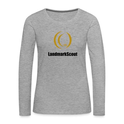 Tshirt Yellow Front logo 2013 png - Women's Premium Longsleeve Shirt