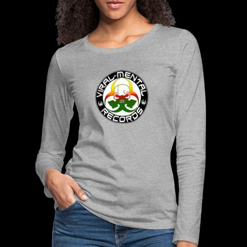 Viral Mental Records Logo - Women's Premium Longsleeve Shirt