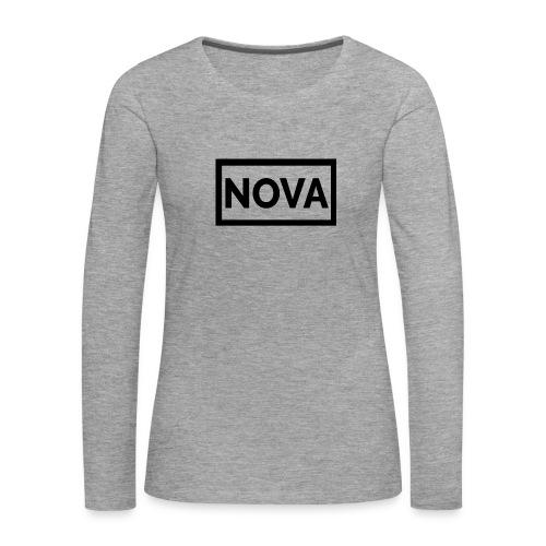 Red Nova Snapback - Women's Premium Longsleeve Shirt