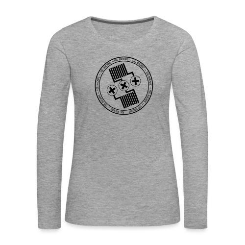 Fog Machine by Vaper Suit - Koszulka damska Premium z długim rękawem