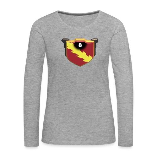 ESCUDO-01 - Camiseta de manga larga premium mujer