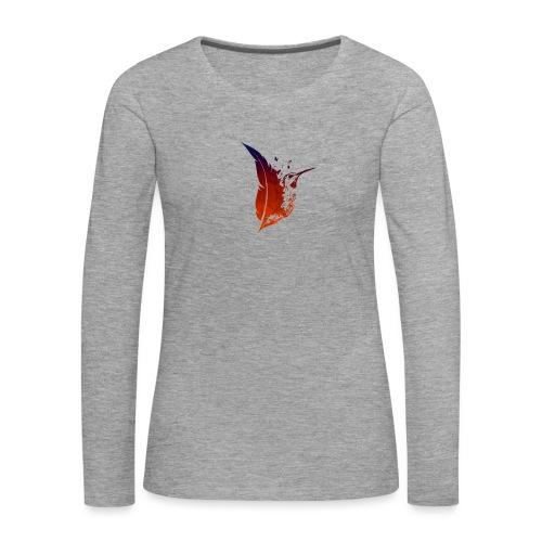 Colibri flamboyant - T-shirt manches longues Premium Femme