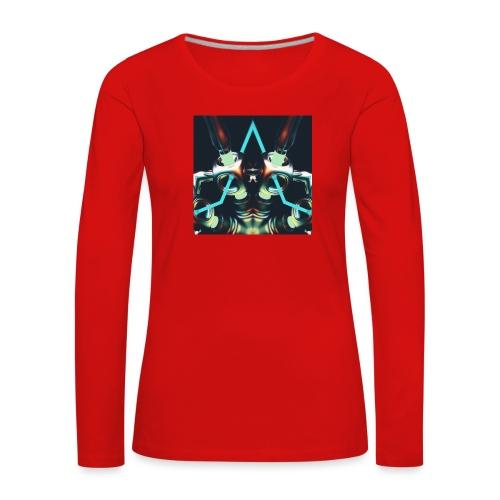 Energize Fields by RNZO - Vrouwen Premium shirt met lange mouwen