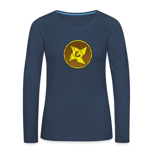 creative cap - Dame premium T-shirt med lange ærmer
