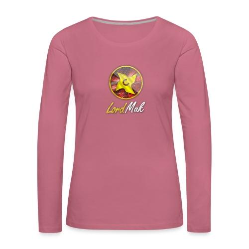 LordMuk shirt - Dame premium T-shirt med lange ærmer