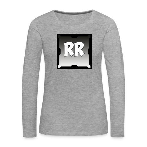 Rixel Simpel - Långärmad premium-T-shirt dam
