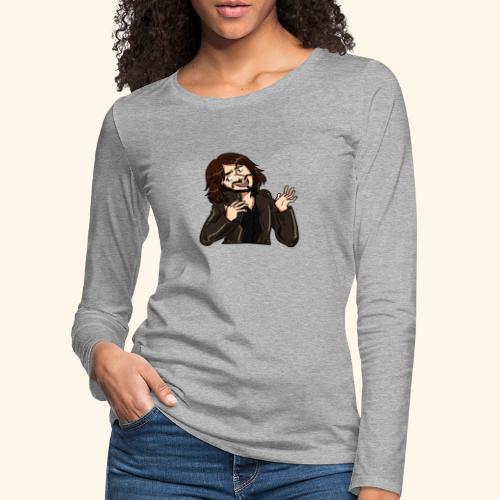 LEATHERJACKETGUY - Women's Premium Longsleeve Shirt