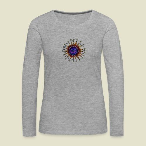 Celebrate Life Mandala - Frauen Premium Langarmshirt
