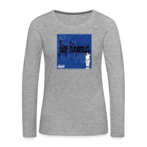 young_go_getter - Women's Premium Longsleeve Shirt