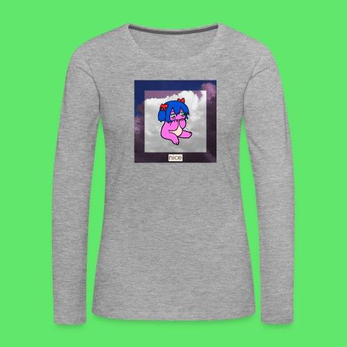 le nice girl - Women's Premium Longsleeve Shirt