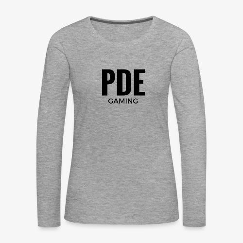 PDE Gaming - Frauen Premium Langarmshirt