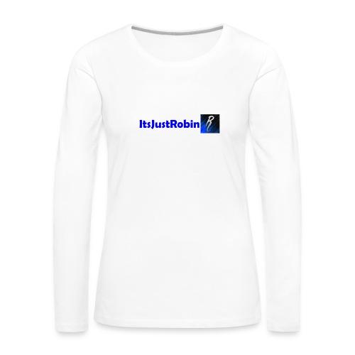 Eerste design. - Women's Premium Longsleeve Shirt