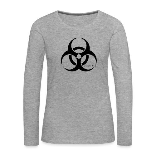 Biohazard - Shelter 142 - Frauen Premium Langarmshirt
