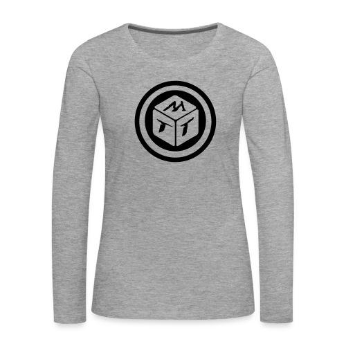 mb logo klein - Frauen Premium Langarmshirt