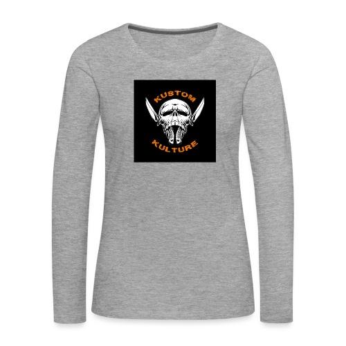 Happyness - T-shirt manches longues Premium Femme