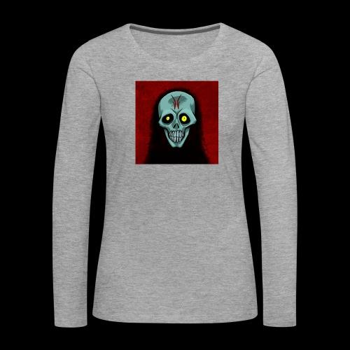 Ghost skull - Women's Premium Longsleeve Shirt