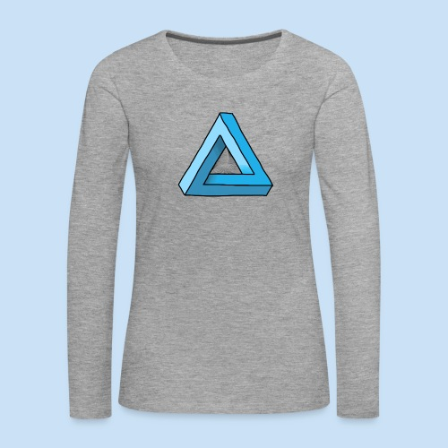 Triangular - Frauen Premium Langarmshirt