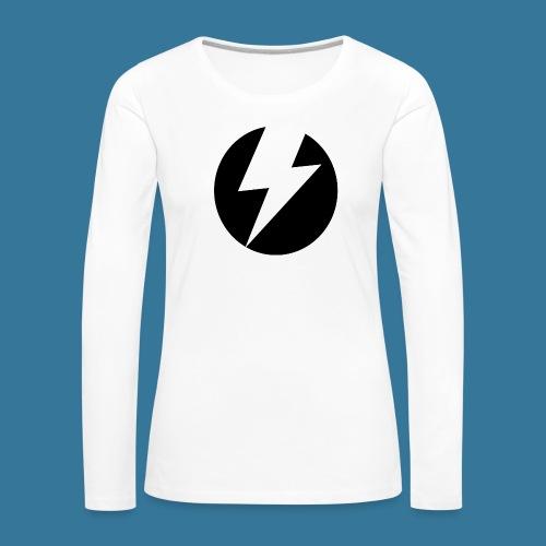 BlueSparks - Inverted - Women's Premium Longsleeve Shirt