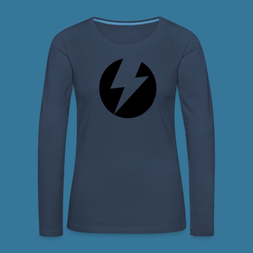 BlueSparks - Inverted - Women's Premium Longsleeve Shirt