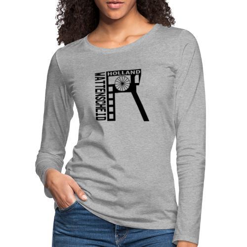 Zeche Holland (Wattenscheid) - Frauen Premium Langarmshirt