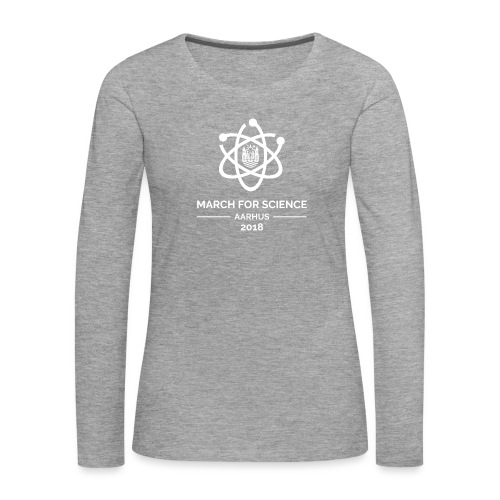March for Science Aarhus 2018 - Women's Premium Longsleeve Shirt
