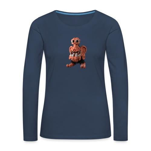 Very positive monster - Women's Premium Longsleeve Shirt