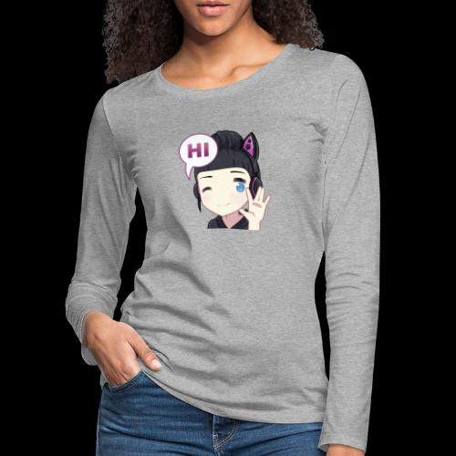 Honey Hi - Frauen Premium Langarmshirt