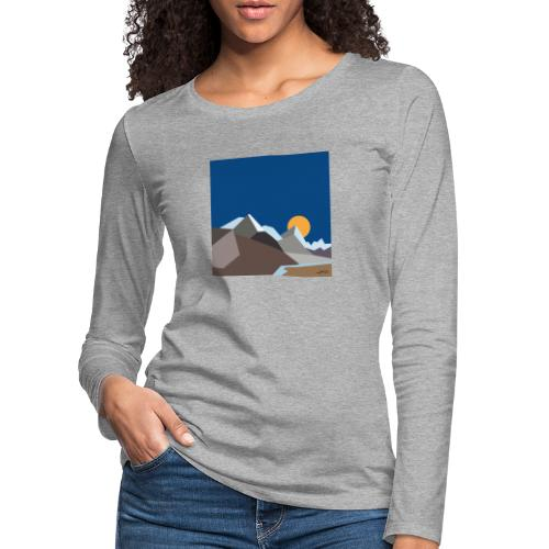 Himalayas - Women's Premium Longsleeve Shirt