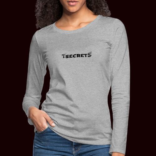 TsecretS - Frauen Premium Langarmshirt