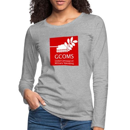 GCOMS logo - Women's Premium Longsleeve Shirt