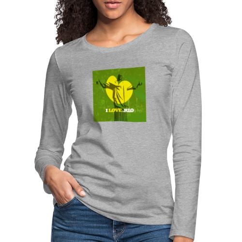 ILOVE.RIO MATA ATLANTICA - Women's Premium Longsleeve Shirt
