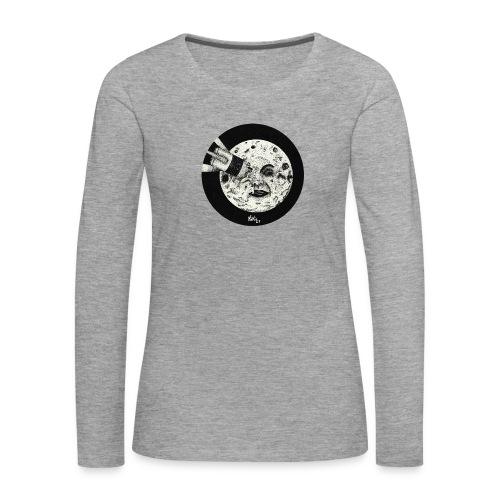 Viaje a la luna (Tributo a George Méliès) - Camiseta de manga larga premium mujer