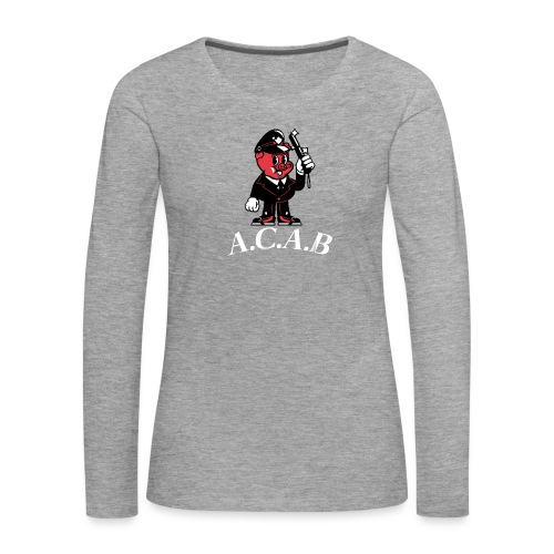 A.C.A.B - T-shirt manches longues Premium Femme