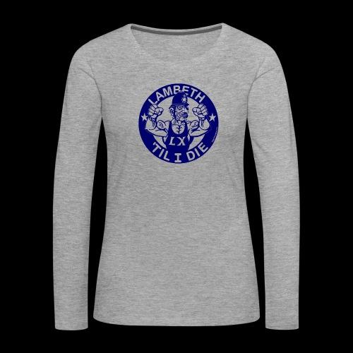 LAMBETH - NAVY BLUE - Women's Premium Longsleeve Shirt