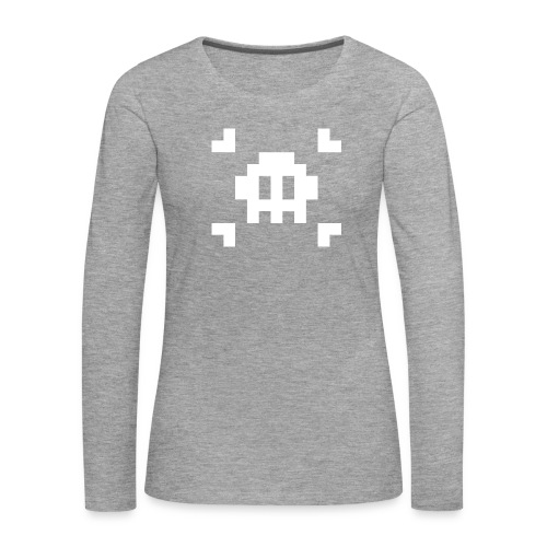 Mug Pixel Skull - T-shirt manches longues Premium Femme