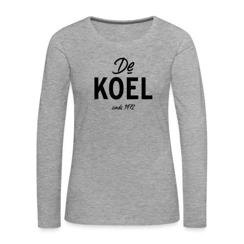 De Koel - Frauen Premium Langarmshirt