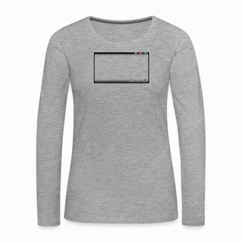 The Scots Review GO LIVE! Logo - Women's Premium Longsleeve Shirt