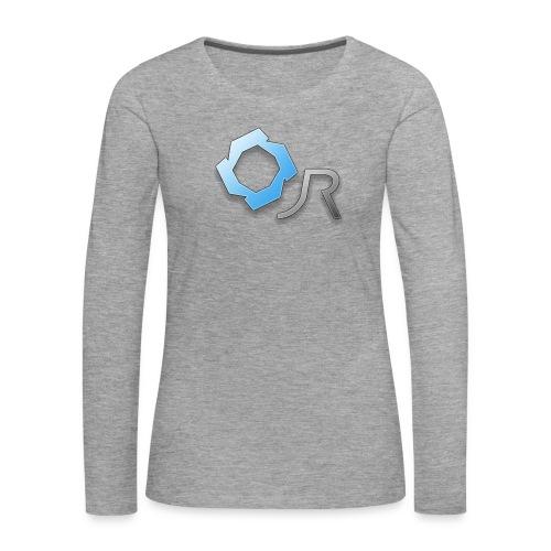 Original JR Logo - Women's Premium Longsleeve Shirt